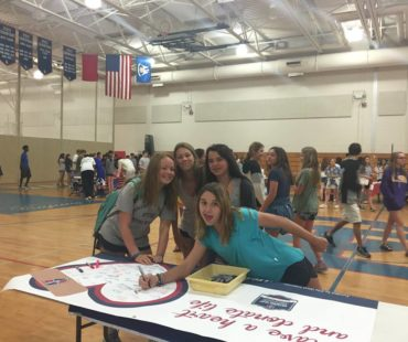Operation Donation at Country Day